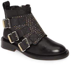 Zadig & Voltaire Laureen Studded Flap Boot