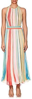 Missoni Women's Striped Metallic Knit Halter Dress