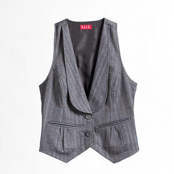 Elle™ Pin-Striped Vest