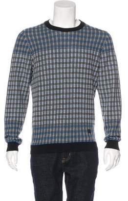 Louis Vuitton Plaid Wool Sweater w/ Tags