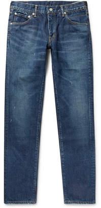 Visvim Social Sculpture 10 Distressed Denim Jeans