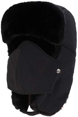 a19cb05ccab15 Estwell Unisex Trapper Trooper Hat Faux Fur Bomber Hat Ear Flap Cap with  Windproof Mask