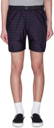 Remi Relief Belted stripe shorts