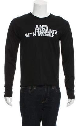 Christian Dior 2008 Long Sleeve Graphic T-Shirt