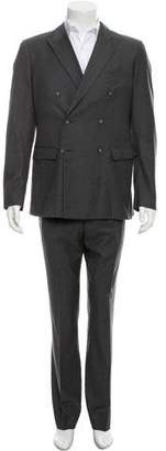 Calvin Klein Collection Wool Double-Breasted Suit
