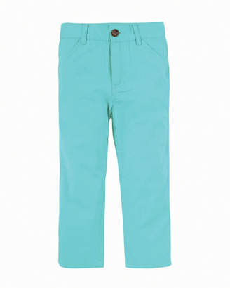 Andy & Evan Straight-Leg Twill Pants, Size 2-7