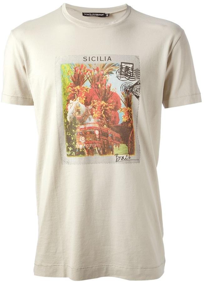 Dolce & Gabbana 'Sicilia' t-shirt