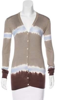Dolce & Gabbana Tie-Dye Knit Cardigan
