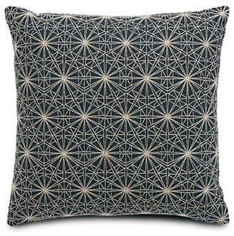 Hotel Collection Modern Woven Square Cushion