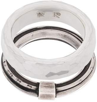 Werkstatt:Munchen embellished ring