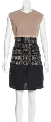 Giambattista Valli Metallic Sheath Dress