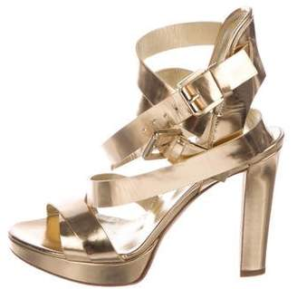 DSQUARED2 Open-Toe High Sandals