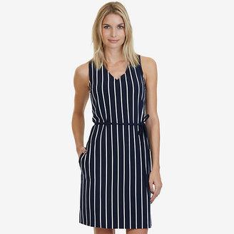 Striped Sleeveless Dress $98 thestylecure.com