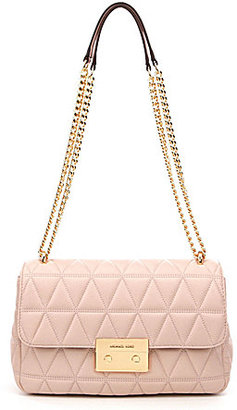 MICHAEL Michael Kors Sloan Quilted Large Chain Cross-Body Bag $328 thestylecure.com
