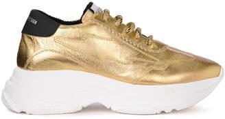 Leo Studio Design Bale Golden Fabric Sneaker