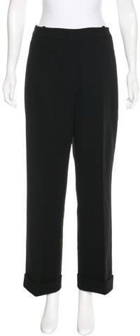 Kate Spade New York Tailored Straight-Leg Pants
