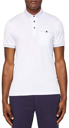 Ted Baker Rickee Solid Regular Fit Polo