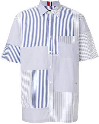 Tommy Hilfiger striped short sleeved shirt