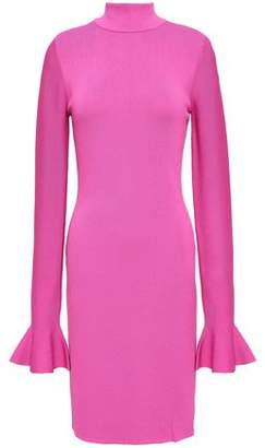 MICHAEL Michael Kors Stretch-Knit Mini Turtleneck Dress