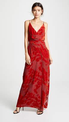 Galvan London Rose Gown