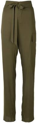 Tom Ford tie high waist trousers