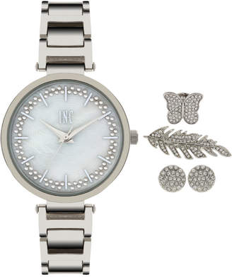 INC International Concepts I.N.C. Women's April Bracelet Watch and Accessory Set 34mm, Created for Macy's