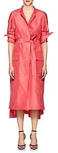 Martin Grant Women's Silk Taffeta Evening Trench Coat-Pink