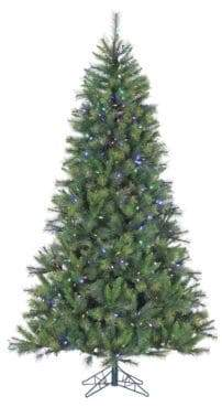 Fraser Hill Farms Pre-Lit Canyon Pine Artificial Christmas Tree - Multi - 12 Ft.