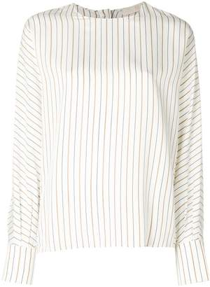 Tela long-sleeve striped blouse