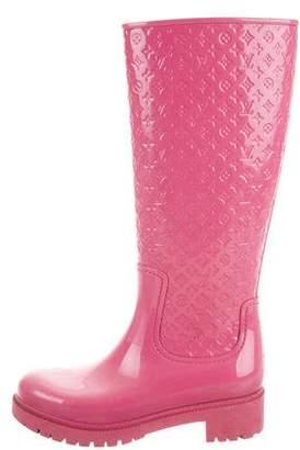 Louis Vuitton Monogram High Splash Rain Boots