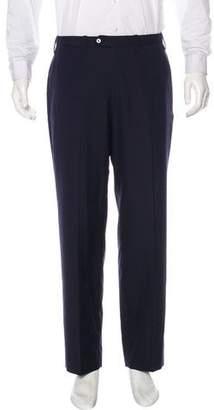 Kiton Pleated Wool Dress Pants