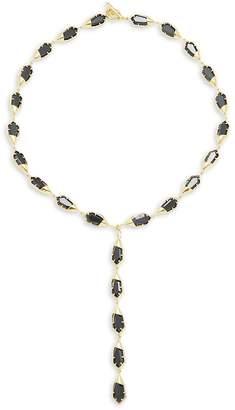 Noir Women's Gold & Black Toggle Necklace