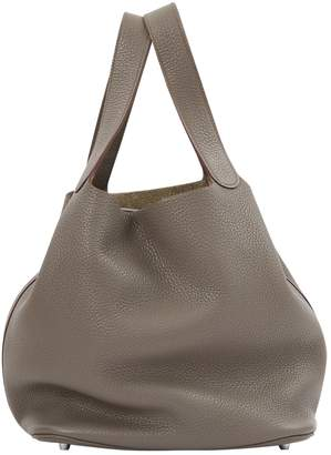 Hermes Leather tote