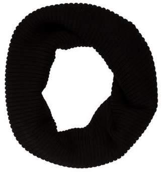 Max Mara Rib Knit Snood Black Rib Knit Snood