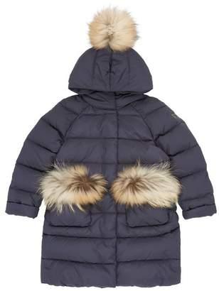 Il Gufo Fur Pocket Padded Coat