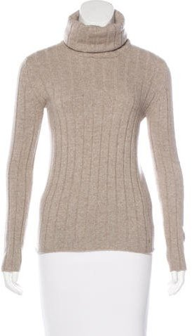 ChanelChanel Cashmere Turtleneck Sweater