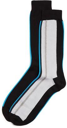 Paul Smith Vertical Stripes Socks $30 thestylecure.com