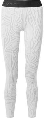 Koral Knockout Stretch Jacquard-knit Leggings