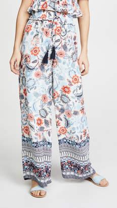 Moon River Floral Pants