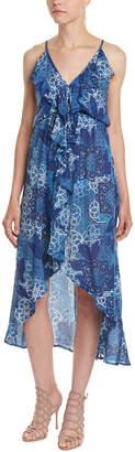 Young Fabulous & Broke YFB Clothing Ruffle-Trim High-Low Dress