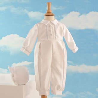Haddad Keepsake Christening Romper Set - Boys newborn-12m