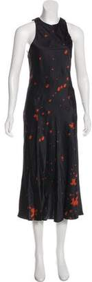 Alexander Wang Printed Maxi Dress w/ Tags