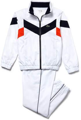 Lacoste Boys' SPORT Tennis Colorblock Tracksuit