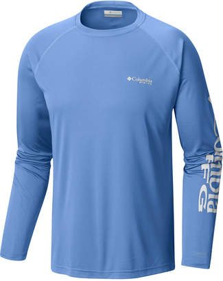 Columbia Men's Pfg Omni-Wick Terminal Tackle T-Shirt