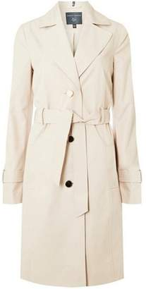 Dorothy Perkins Womens **Tall Stone Waterproof Mac Coat