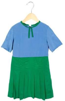 Marni Girls' A-Line Silk Dress