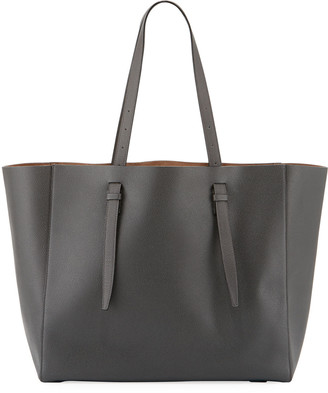 Valextra Soft Leather Tote Bag