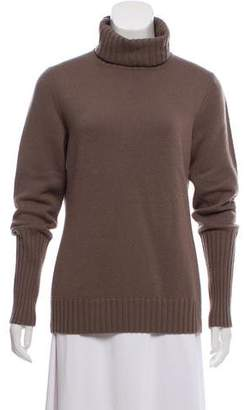 Loro Piana Long Sleeve Turtleneck Sweater