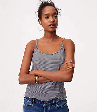 LOFT Striped Clean Cami