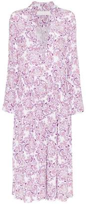 See by Chloe floral print shirt dress